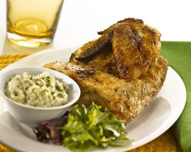 Roasted Half of Chicken