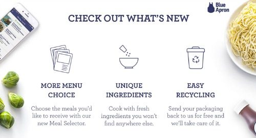 what makes blue apron unique