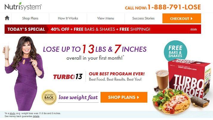 nutrisystem website