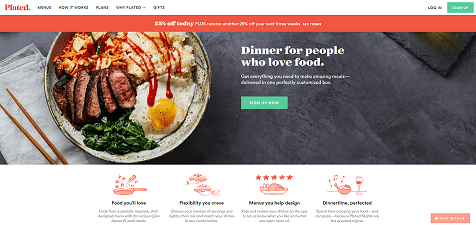 Plated Website
