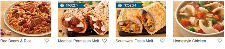 Nutrisystem Lunch Menu
