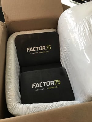 factor 75 packaging